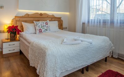 pokój z balkonem willa ryś
